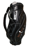 Best selling promotional unique leather golf bag for ladies