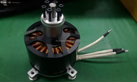 Watercooling brushless DC motor 15KW MP12090/KV130 for electric boat