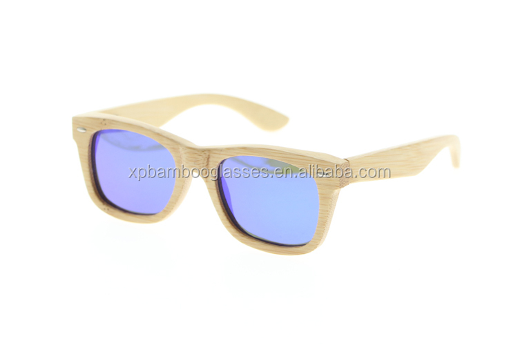 Cheap Cool CE FDA Approved Custom Logo kids bamboo sunglasses