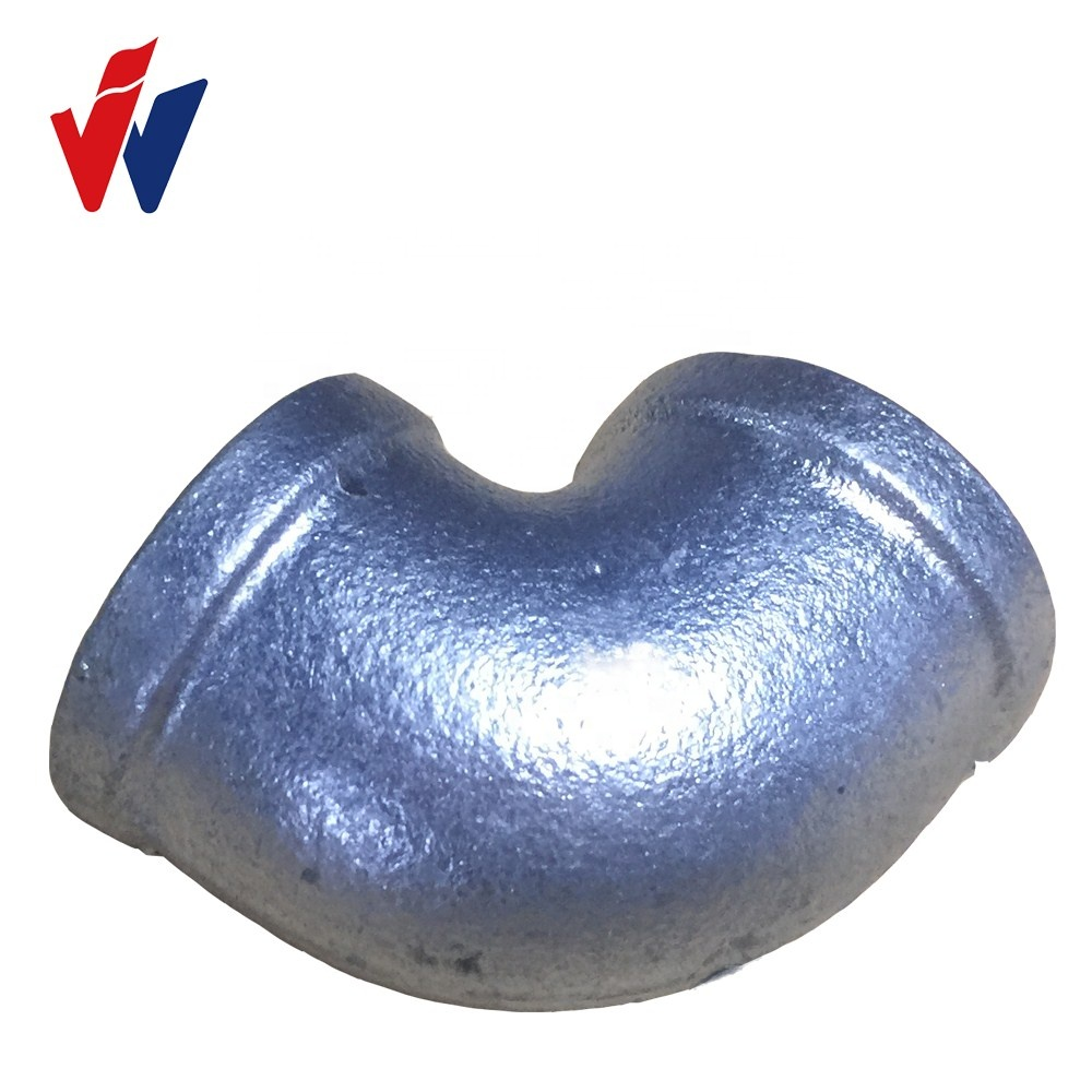 malleable iron pipe fittings Fig No.90 banded elbow
