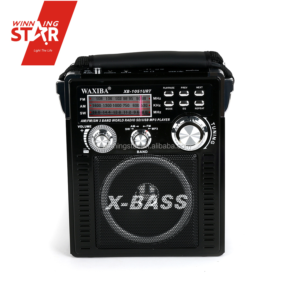 AM/FM/SW Radio Available USB/SD/MP3 Player Radio