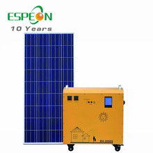 new hot sale solar AC power generator solar panel system solar AC system for home appliance used