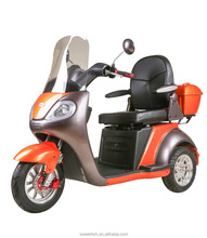 3 Wheels Safe Comfortable Outdoor Handicapped Electric Mobility Scooter