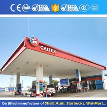 Metal Roof Gas Station Used Canopy Manufacturers