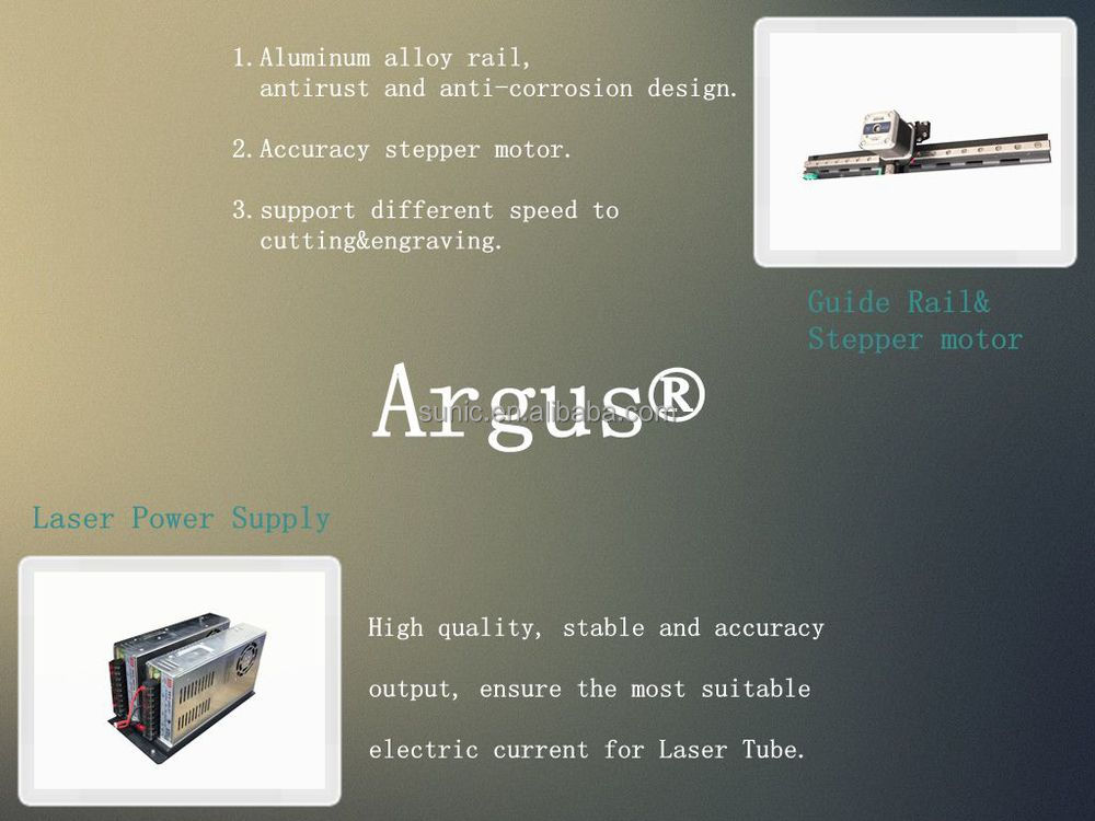 Air cooling co2 mini laser engraver R.F metal tube Argus best price