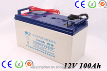 12v 100ah UPS solar battery for home solar system