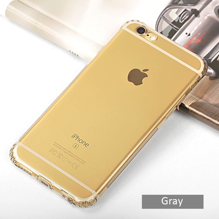 DFIFAN Stylish mobile phone accesories back cover case for iphone 6 skid-proof ultra slim clear case for iphone 7