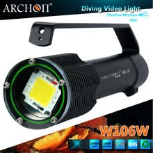 Scuba diving flashlight 10000 lumens archon diving led torch