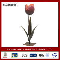 New Product Metal Tulip Candle Holder Art and Craft