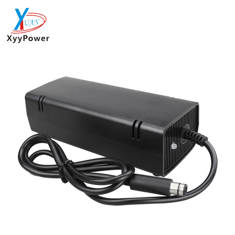 AC Adapter Charger 220V Charger Charging Power supply Cord cable for Microsoft XBox 360 One x-360 S Slim 135W Power Supply