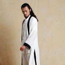 Chinese style tang suit hanfu men's clothing outerwear traditional chinese clothing for men plus size