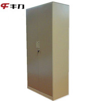 Steel Cabinet Clothes Locker Metal Closet/Wardrobe