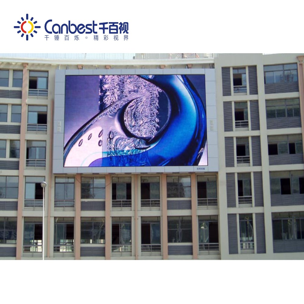 Full color P10 outdoor shop led board Low Power Consumption