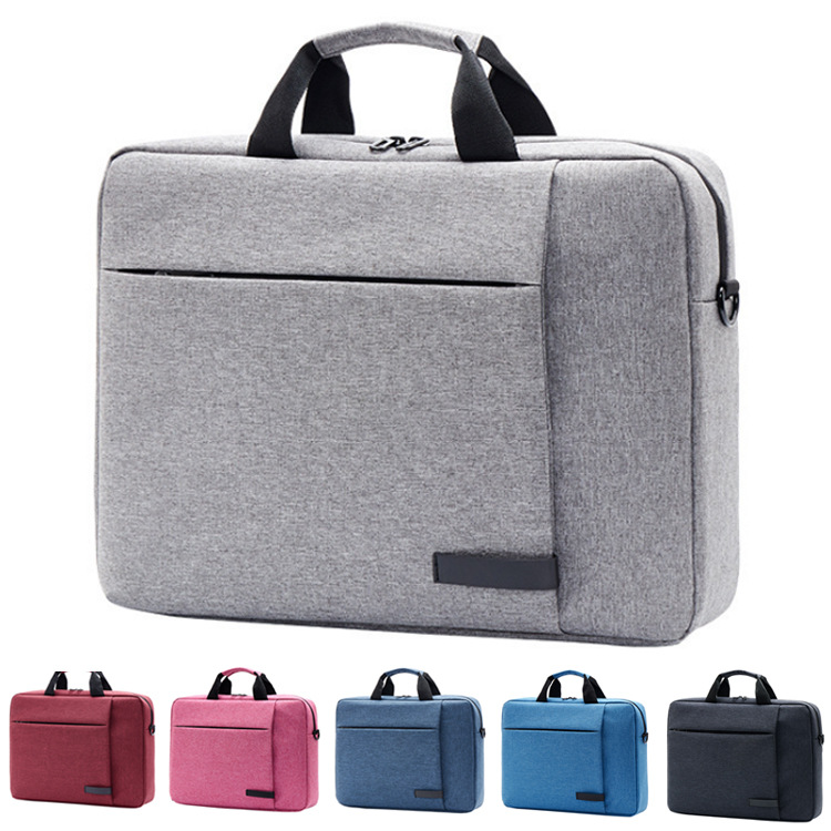Custom Waterproof Fashion Briefcase Messenger Computer bag Business 14 inch 15 inch Shoulder Laptop bags