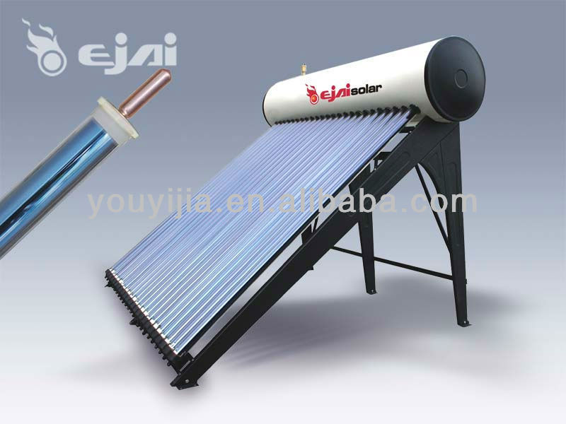 excellent pressurized solar water heater,heat pipe 58*1800 evacuated tube