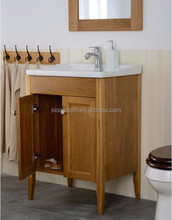 Customized ceramic basin chinese wood cabinet