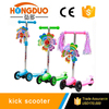 Wholesale 3 wheel hand brake kids kick scooter
