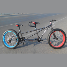 two seater fat tire tandem surrey bike