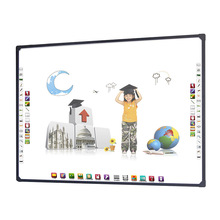 Teaching equipment usb connection touch interactive classroom white board