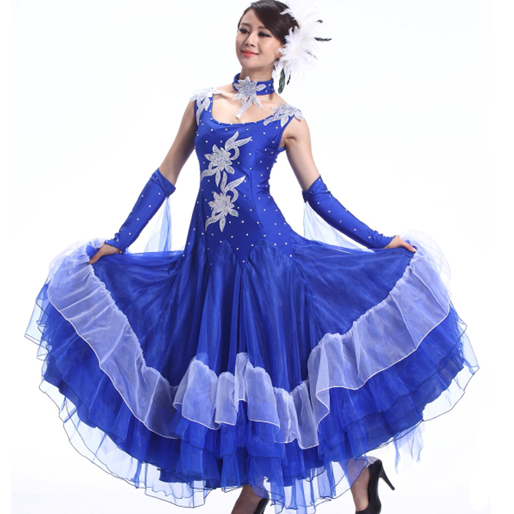 8791a8bf116e Buy AAW 2015 new big swing long ballroom dress practice upscale tango dance  dresses ballroom hot sale dresses for standard dances in Cheap Price on  Alibaba. ...