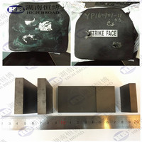 military bulletproof plate