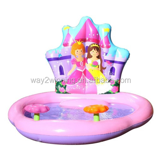 Inflatable Princess Kiddie Pool