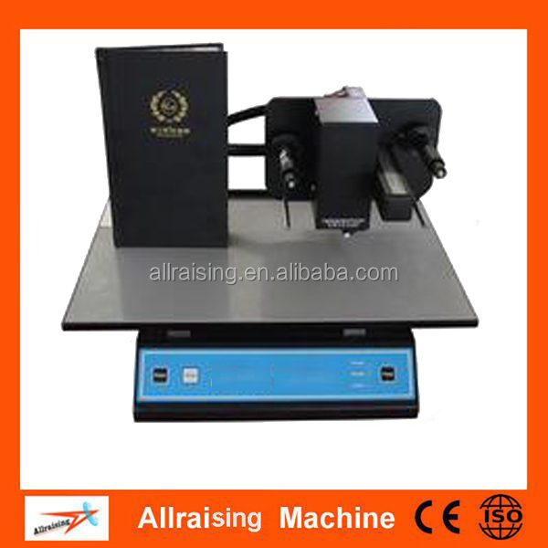 China manufacturer plateless digital hot foil printer for Personalized production