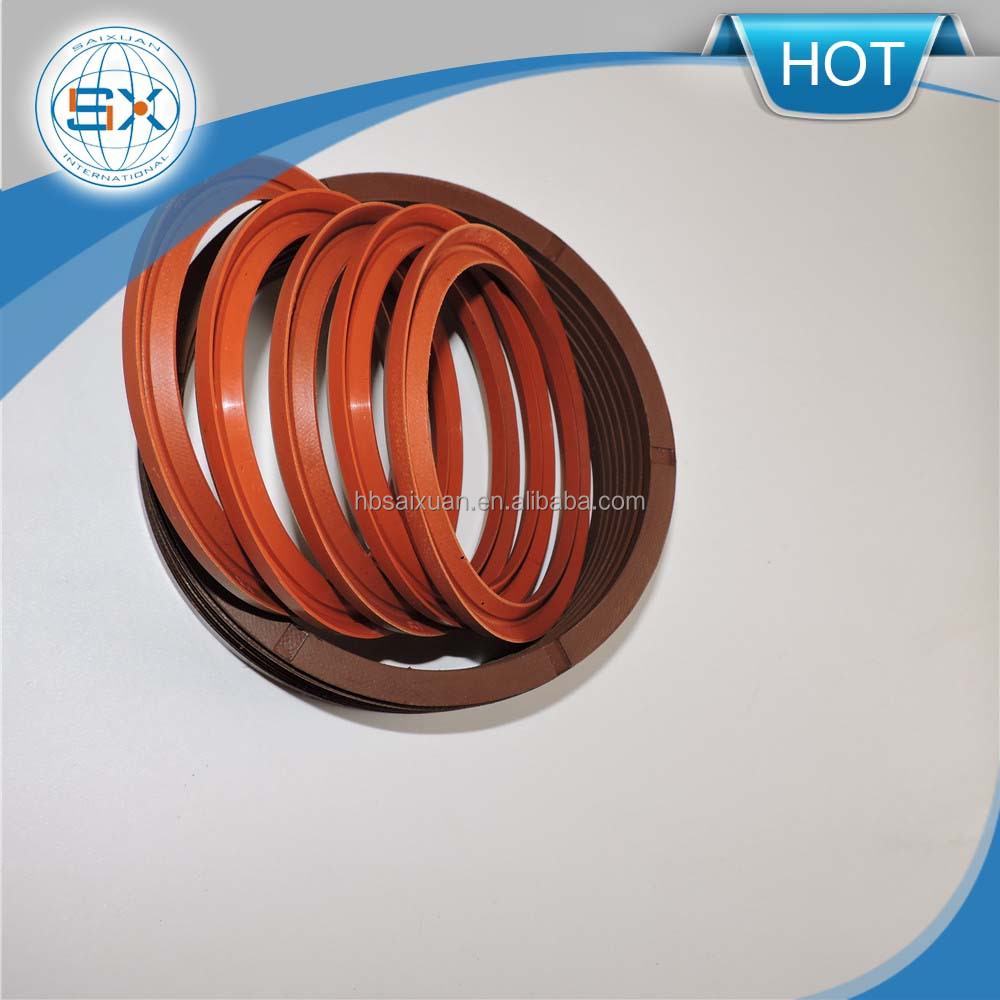 Rubber motor shaft V packing oil seals