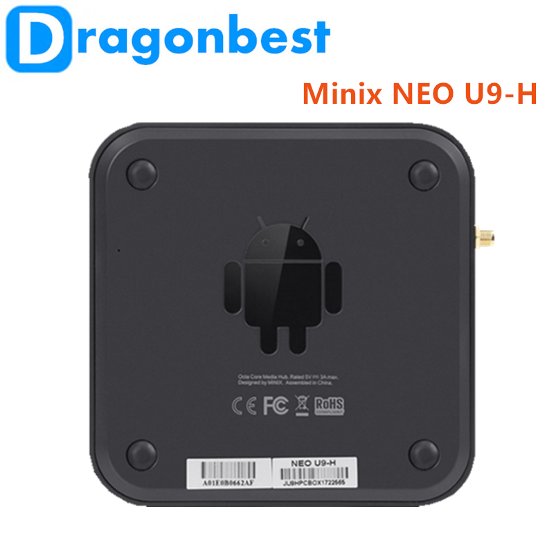 New! Minix NEO U9-H S912 2G 16G android cable Android 6.0 TV Box
