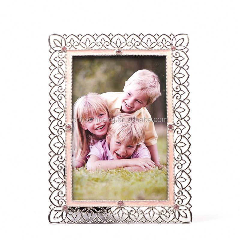 polystyrene photo frame moulding soft metal magnet photo frame keyboard photo frame