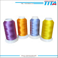 120 100% polyester shiny embroidery thread