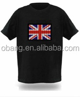 2014 American flag t shirtWorld cup el t shirt, music led t-shirt