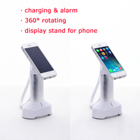 360 degree rotating cell phone anti-theft magnetic holder