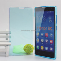 Factory Direct ! For Huawei Honor 3 C Soft TPU Case