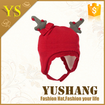 2016 wholesale cheap baby beanie hat /children knitted hat/beanies for kids