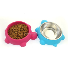 2017 New Design Silicone Dog Bowls Collapsible Portable Travel Pet Water Bowl (12 Oz) with Free Bonus Carabiner Belt Clip