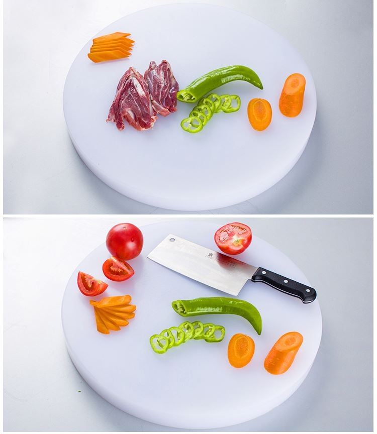 hotel family used round full sizes Layered PE plastic cutting board