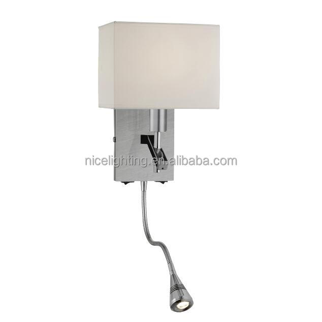 Modern wall light wall led lamp indoor bedside reading wall light two switch