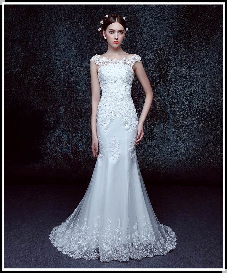 Z91762A 2016 White Elegant Crochet Sleeveless lace Wedding Dress For Bridal