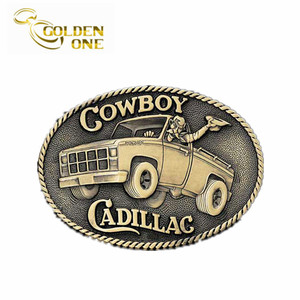 Personalized Custom Logo Classic Design Belt Buckle