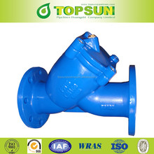 Ductile Cast iron Y type strainer,water strainer