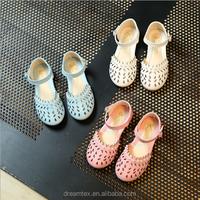2017 summer children's sandal girl's flat sandal