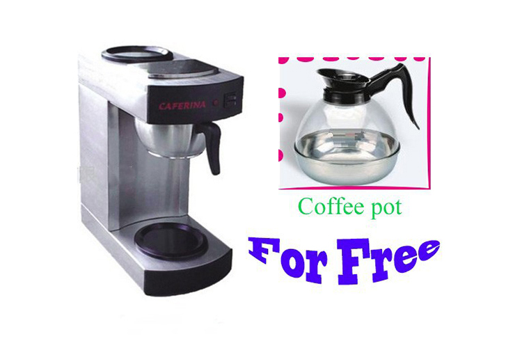 Stainless Steel Coffee Maker Machine