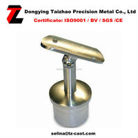 stainless steel glass handrail support/bracket