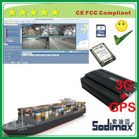 Bangkok products 3G online GPS ship mobile DVR with customized platform