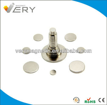 Strong Neodymium Disk Magnets for Clothing Sintered Neodymium Magnet Ferrite Magnets for sale