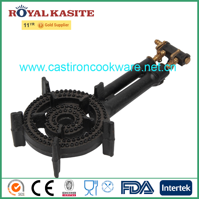 2 Ring BBQ Cooking Gas Burner