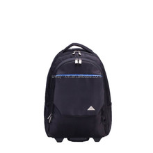 Heavy-duty waterproof nylon trolley laptop backpack,laptop trolley bag