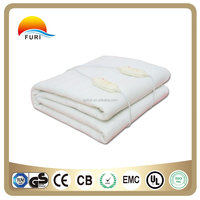 100% soft polyester Electric heater blanket for sale