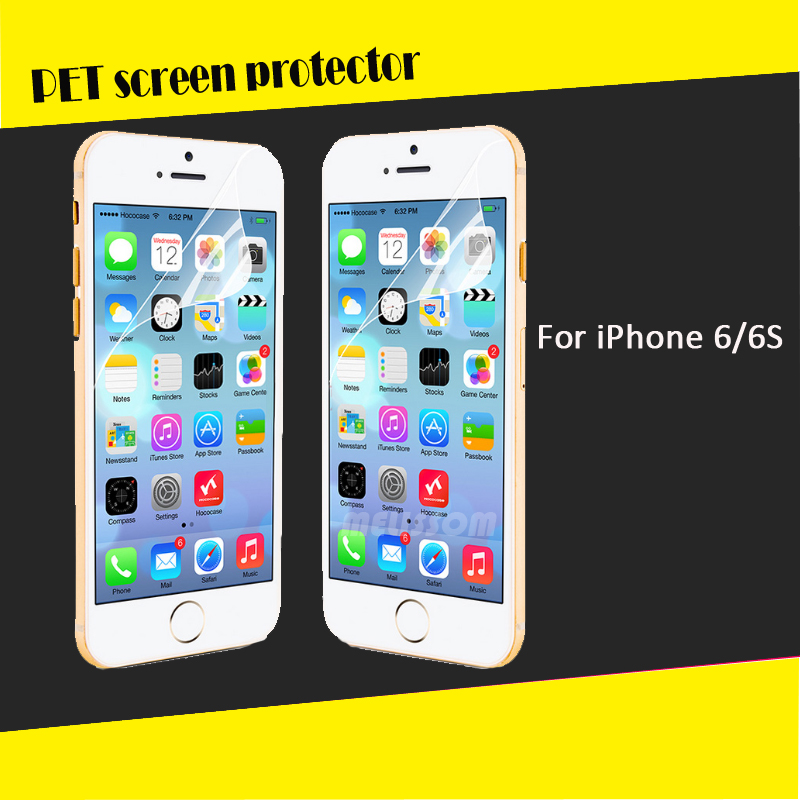 Classic HD clear screen protector for iphone 6s high quality HD clear screen cover/guard/foils/film